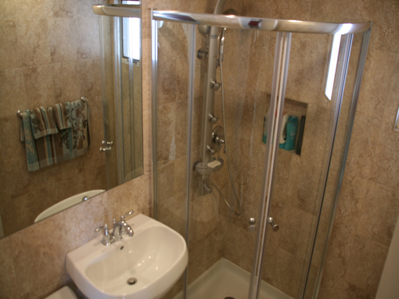 5 day bathroom remodeling photos for Bath remodel in one day