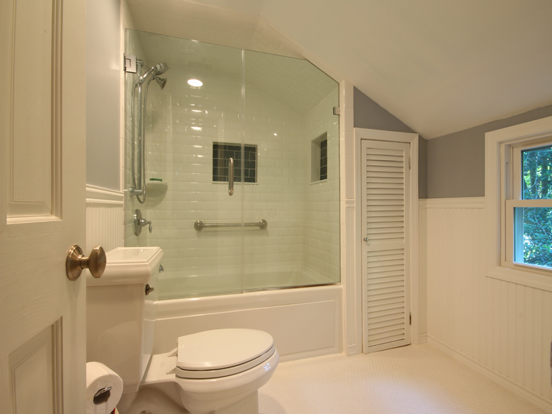5 day bathroom remodeling photos for Bath remodel one day