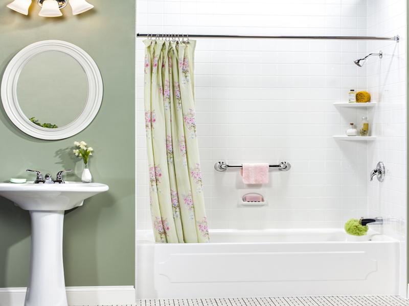 Bathroom liners tub liner