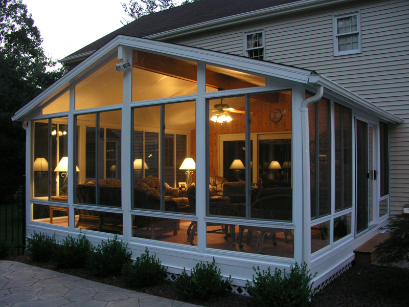 Sunroom additions for Room additions to house
