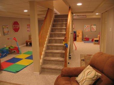 kids playroom basement ideas
