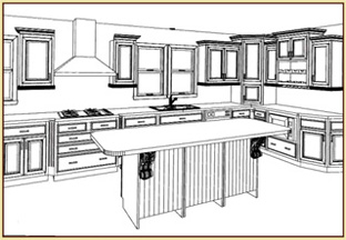 Design imaging for Kitchen design 2020