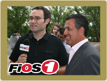 Sal Ferro interviewed on Verizon FiOS1