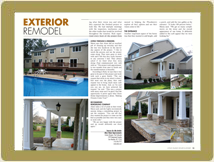 Exterior project in LIBI magazine