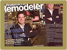 Sal Ferro & Alure are featured in Professional Remodeler Magazine