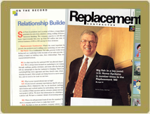 Alure featured in Replacement Contractor Magazine