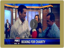 Sal & Fight For Charity On Good Day NY