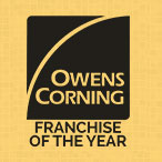 Owens Corning Franchise of the Year