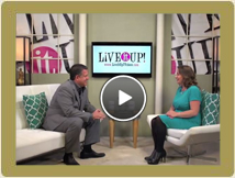 Sal On Live It Up TV With Donna Drake