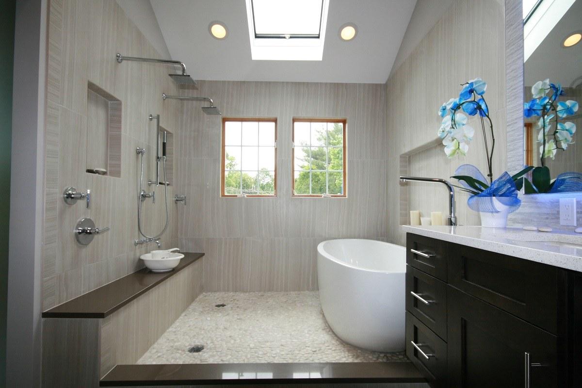 Design An Idyllic Earthy Bathroom For Your Home