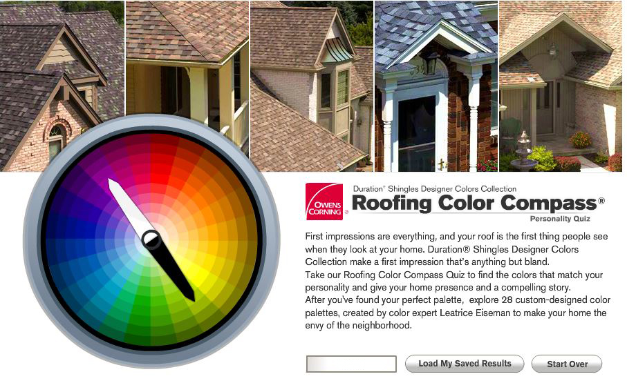Owen Corning Roofing Color Compass