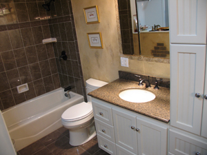 Bathroom Remodeling Storage