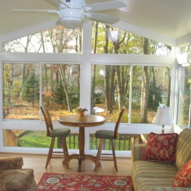 Alure Interior Gable Style Sunroom