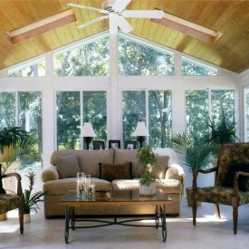 Alure Interior Cathedral Style Sunroom