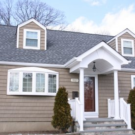 Novik Brownstone Shake Siding